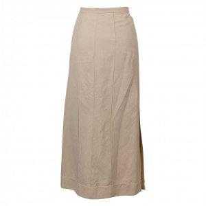 חצאית ארוכה חקי עם שסע בשני הצדדים 2