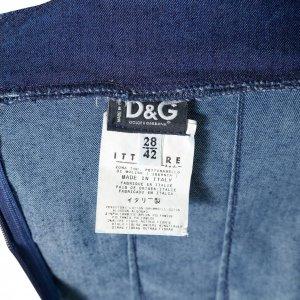 שמלת ג'ינס מחויטת 3
