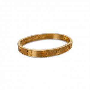 צמיד ציפוי זהב 18 k cartier 2
