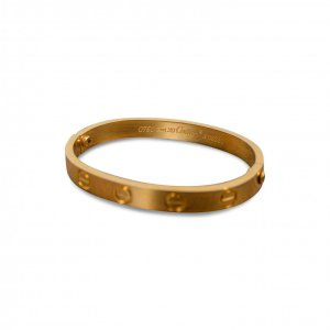 צמיד ציפוי זהב 18 k cartier 4