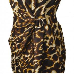 שמלה ללא שרוול מנומר 2
