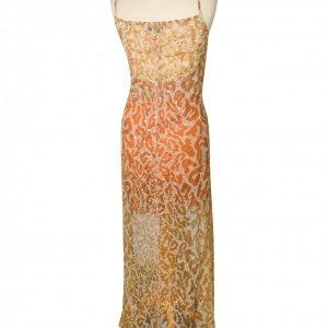 שמלת מקסי מנומרת עם פייטים 2