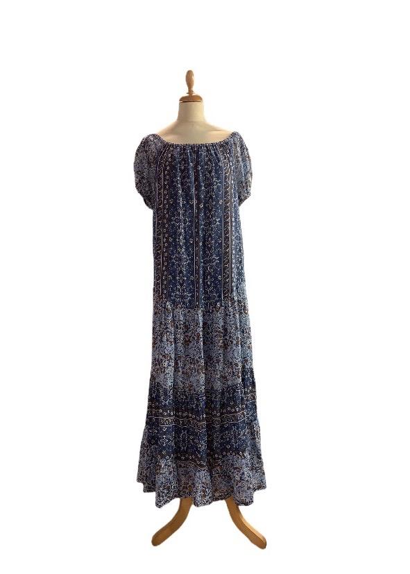 שמלה maxi boho 1