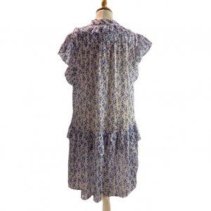 שמלה קצרה שיפון 2