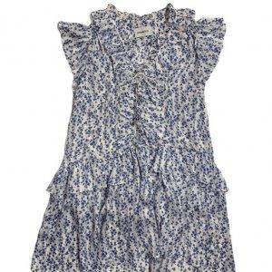 שמלה קצרה שיפון 5