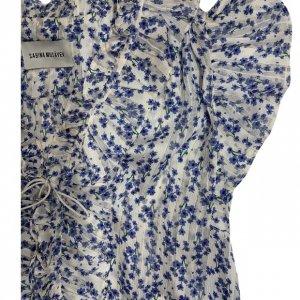 שמלה קצרה שיפון 3