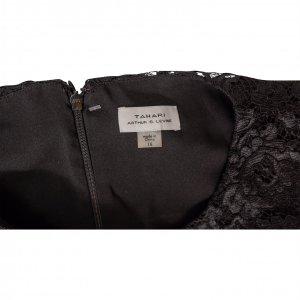אוברול שחור עם תחרה שחורה בחזה 3