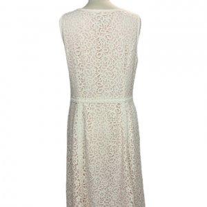 שמלה תחרה לבנה 2