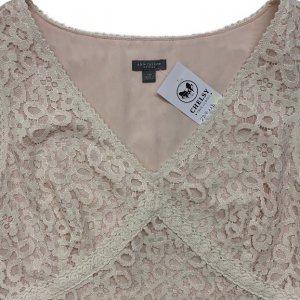 שמלה תחרה לבנה 5