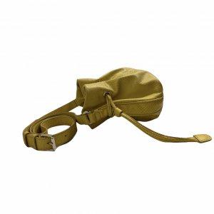 תיק bucket צהוב צד 5