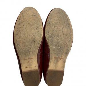 נעלי בובה בורדו ferragamo 4