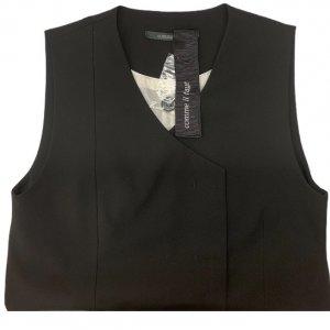 שמלה מחוייטת מכופתרת שחור 6