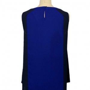 גופיה כחולה עם פסים צבעוניים 2