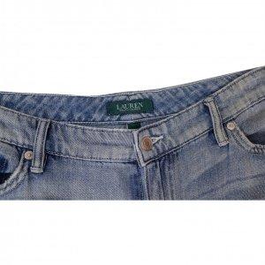 מכנסי ג'ינס בהירים עם טלאים 2