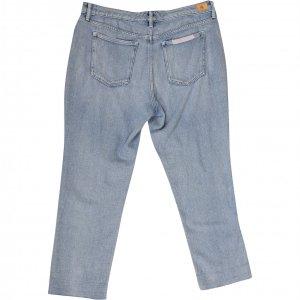 מכנסי ג'ינס בהירים עם טלאים 3