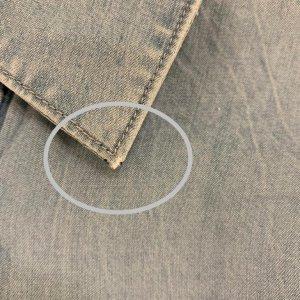 חולצה ארוכה מכופתרת בצבע ג׳ינס 4