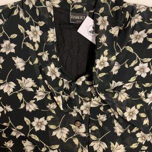 שמלת וינטג׳ שחורה פרחונית 4