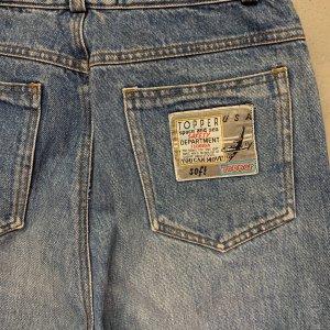 ג׳ינס baggy וינטג׳ עם רוכסנים בקרסוליים 4
