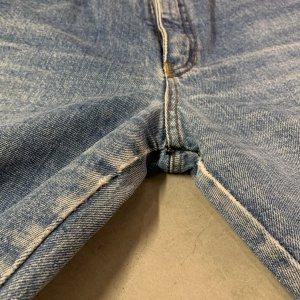 ג׳ינס baggy וינטג׳ עם רוכסנים בקרסוליים 5