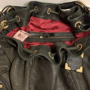תיק גדול מעור חום כהה - Juicy Couture 5