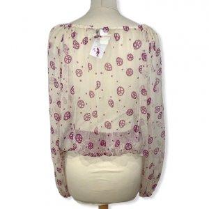 חולצת משי בוהו  - JEAN PAUL GAULTIER 3