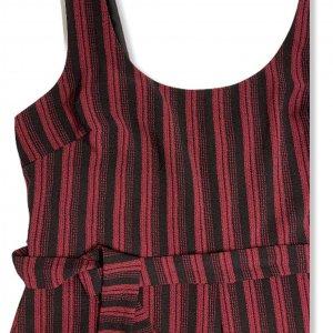 סרבל פסים שחור ואדום מ Karl Lagerfeld 3