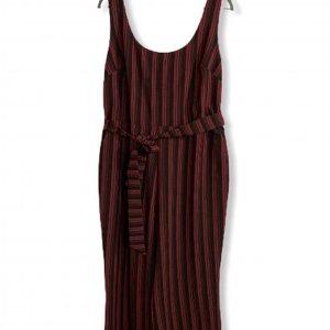 סרבל פסים שחור ואדום מ Karl Lagerfeld 2