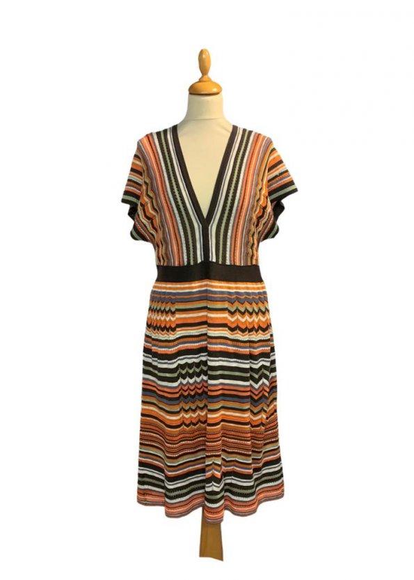 שמלת סריג פסים - Missoni 1