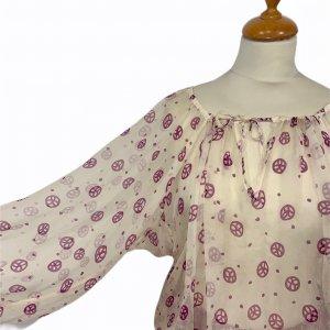 חולצת משי בוהו  - JEAN PAUL GAULTIER 2