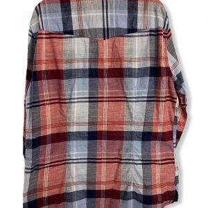 חולצה מכופתרת כחול אדום - Armani Jeans 2