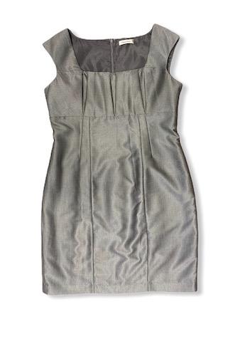 שמלה מחויטת אפורה - Calvin Klein 1