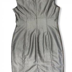 שמלה מחויטת אפורה - Calvin Klein 2