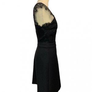 שמלה שחורה עם תחרה בחלק העליון - SET 3