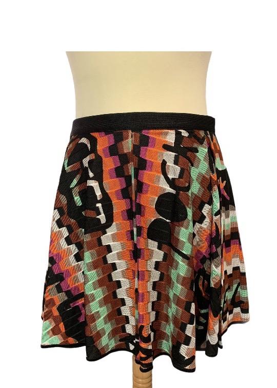 חצאית סריג צבעוני - Missoni 1