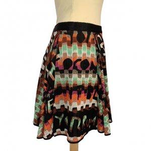 חצאית סריג צבעוני - Missoni 3