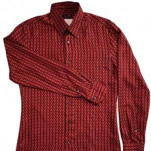 חולצת משי מכופתרת - Valentino 4