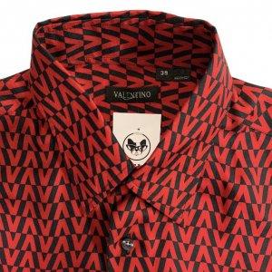 חולצת משי מכופתרת - Valentino 3