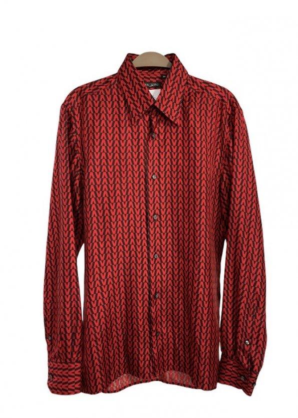 חולצת משי מכופתרת - Valentino 1