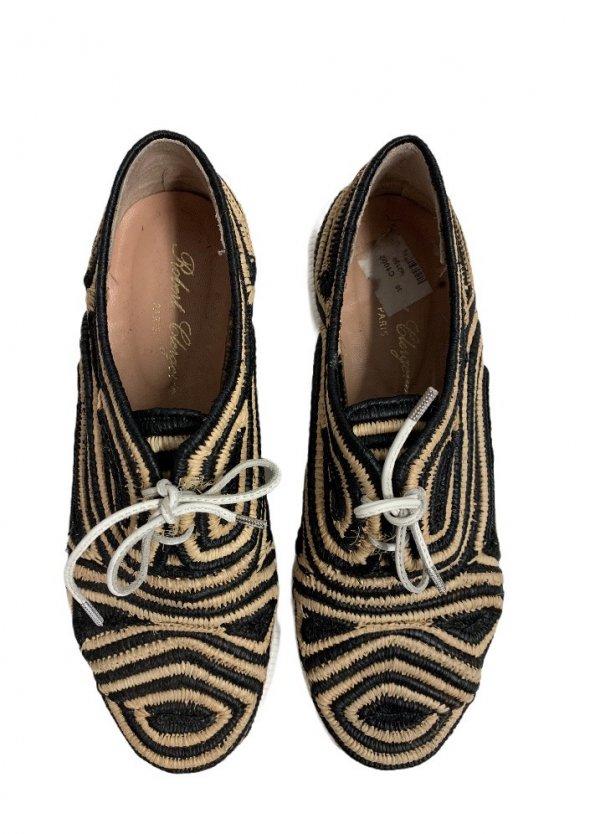 נעליים derbies raffia של Robert Clergerie 1