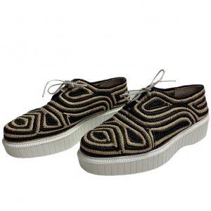 נעליים derbies raffia של Robert Clergerie 2