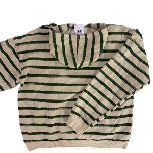 קפוצ'ון עם פסים ירוקים - Armani Jeans 2