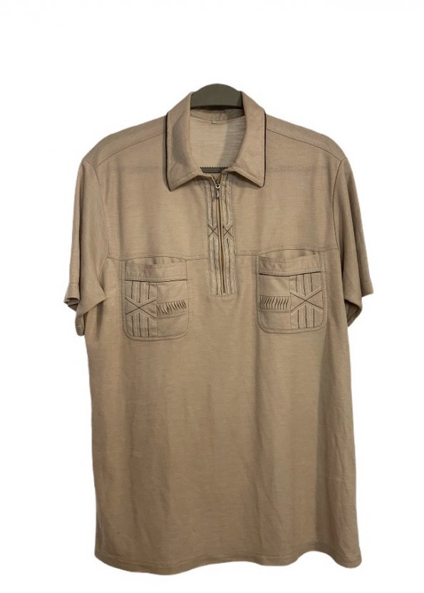 חולצת פולו קצרה וינטג' 1
