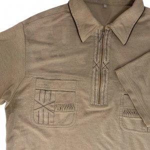 חולצת פולו קצרה וינטג' 3