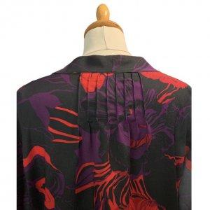 חולצה פרחונית עם שרוול ארוך של Calvin Klein 4