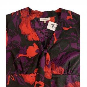 חולצה פרחונית עם שרוול ארוך של Calvin Klein 5