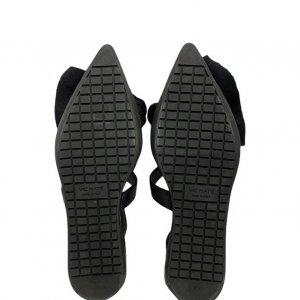 נעלי  בובה שחורות עם קשת ורצועות - 'VIC - MATIE 5