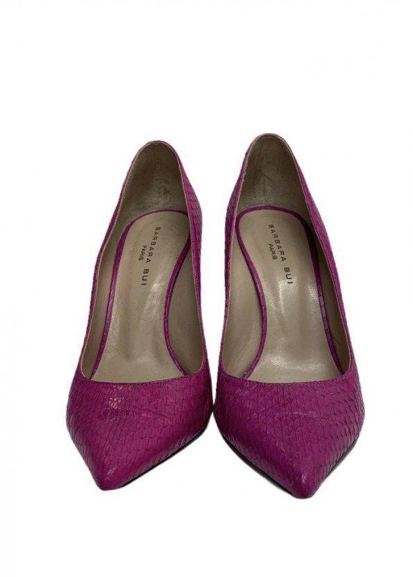 נעלי עקב ורוד פוקסיה 1