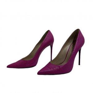 נעלי עקב ורוד פוקסיה 2