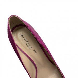 נעלי עקב ורוד פוקסיה 5