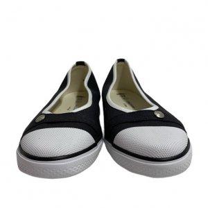 נעל בובה שחורה מבית LONGCHAMP 5